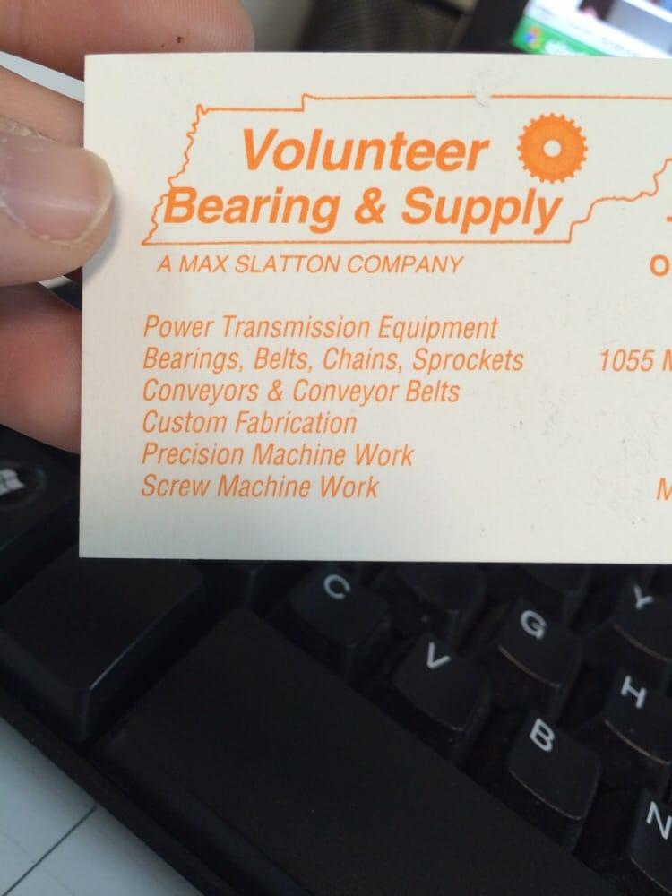 Volunteer Bearing & Supply: 1055 Mt View Industrial Dr, Morrison, TN