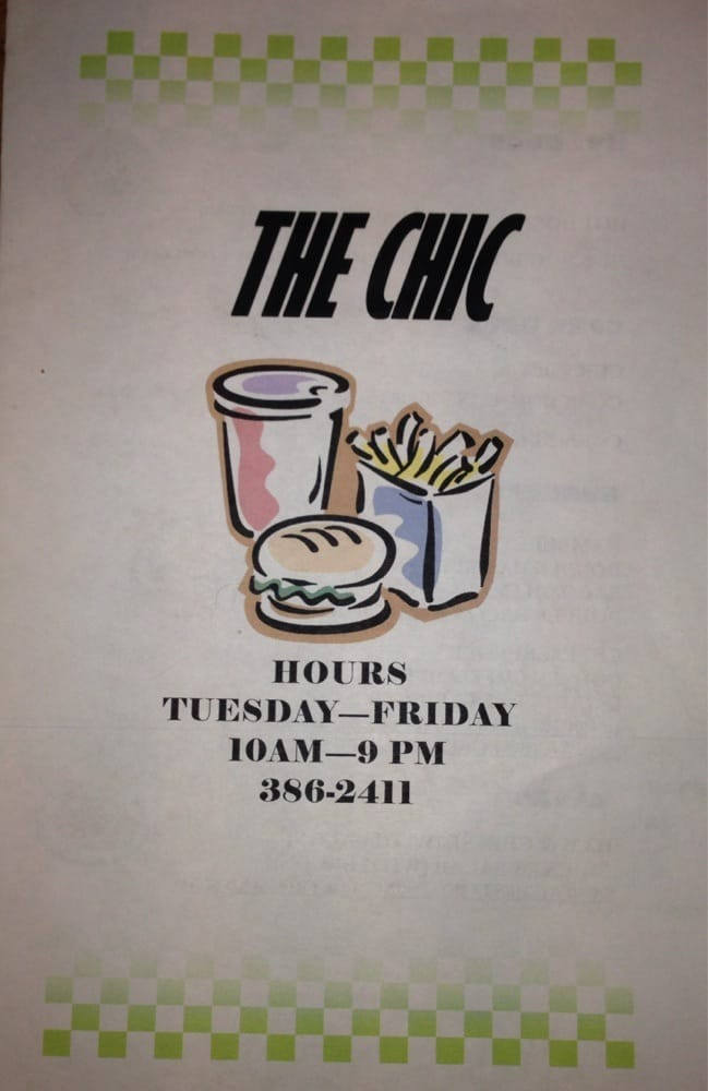 Chic Restaurant: 319 N Georgetown Hwy, Johnsonville, SC
