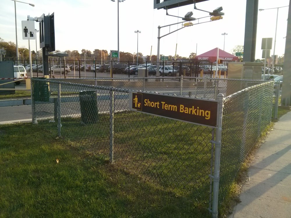 Pet Relief Area Outside Of Central Terminal Walk To Your