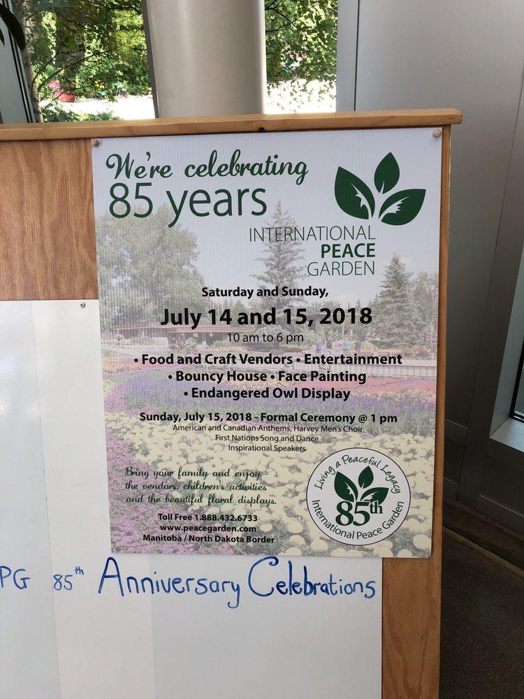 International Peace Garden: 10939 Hwy 281, Dunseith, ND