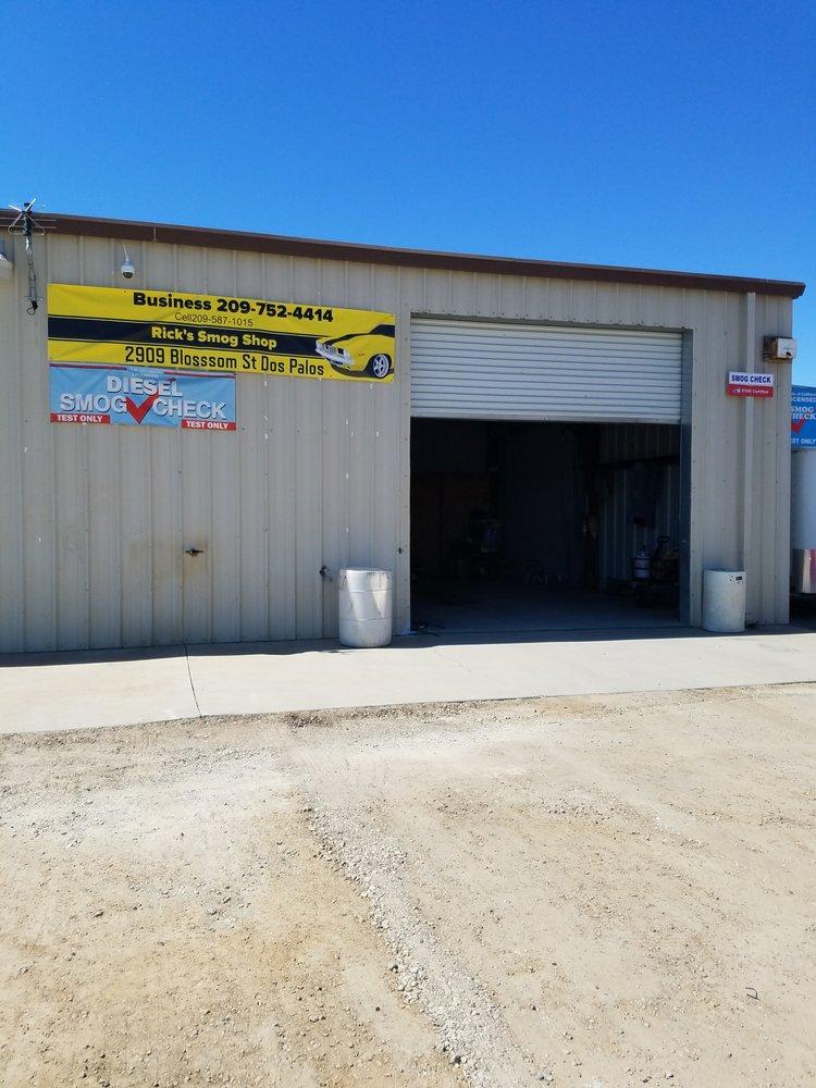 Rick's Smog Shop: 2534 Blossom St, Dos Palos, CA