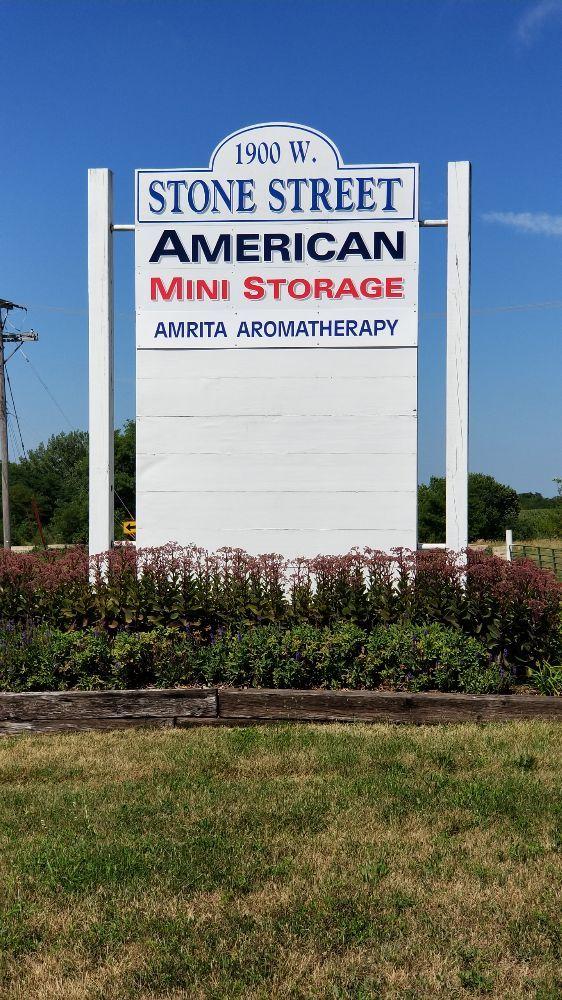 American Mini Storage: 1900 W Stone Ave, Fairfield, IA