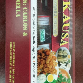La Kausa Restaurant North Bergen Nj