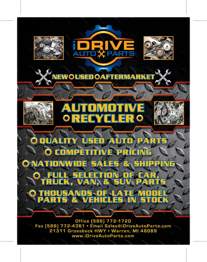 Idrive Auto Parts 21311 Groesbeck Hwy Warren Mi 2019 All You