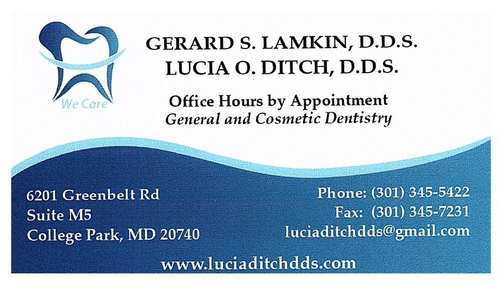 Dr.Lucia Ditch, D.D.S.: 6201 Greenbelt Rd, College Park, MD