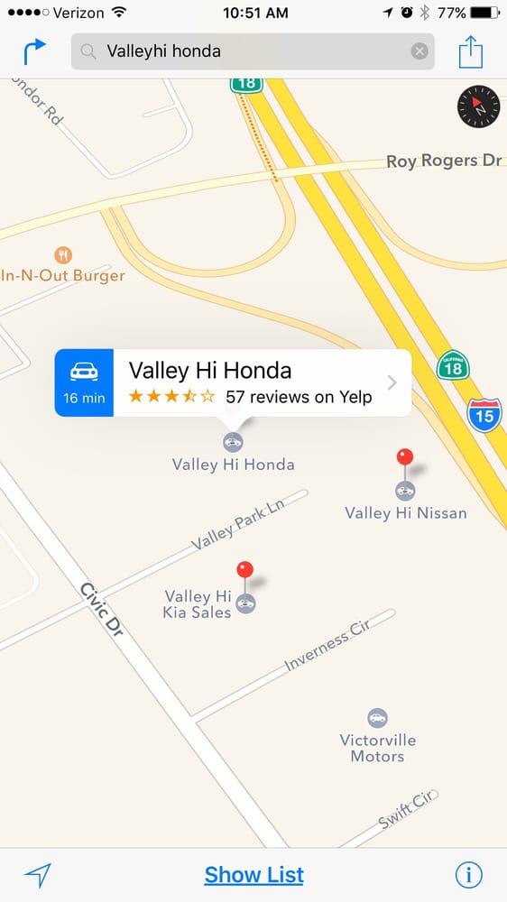 Valley hi honda 24 foto 39 s 110 reviews autodealers for Valley hi honda 15710 valley park ln victorville ca 92394