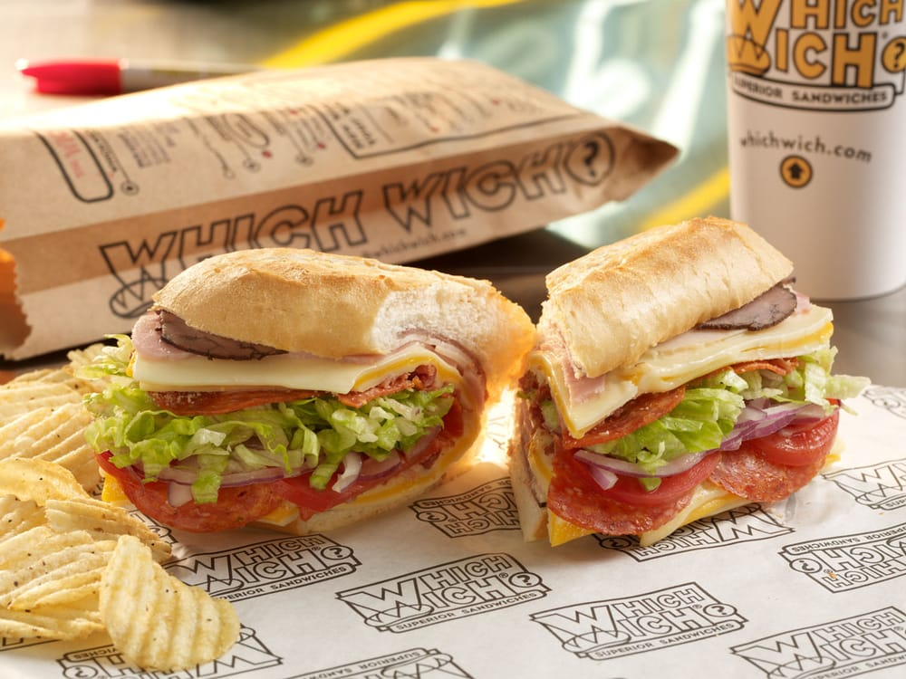 Which Wich Superior Sandwiches: 645 Griswold, Detroit, MI