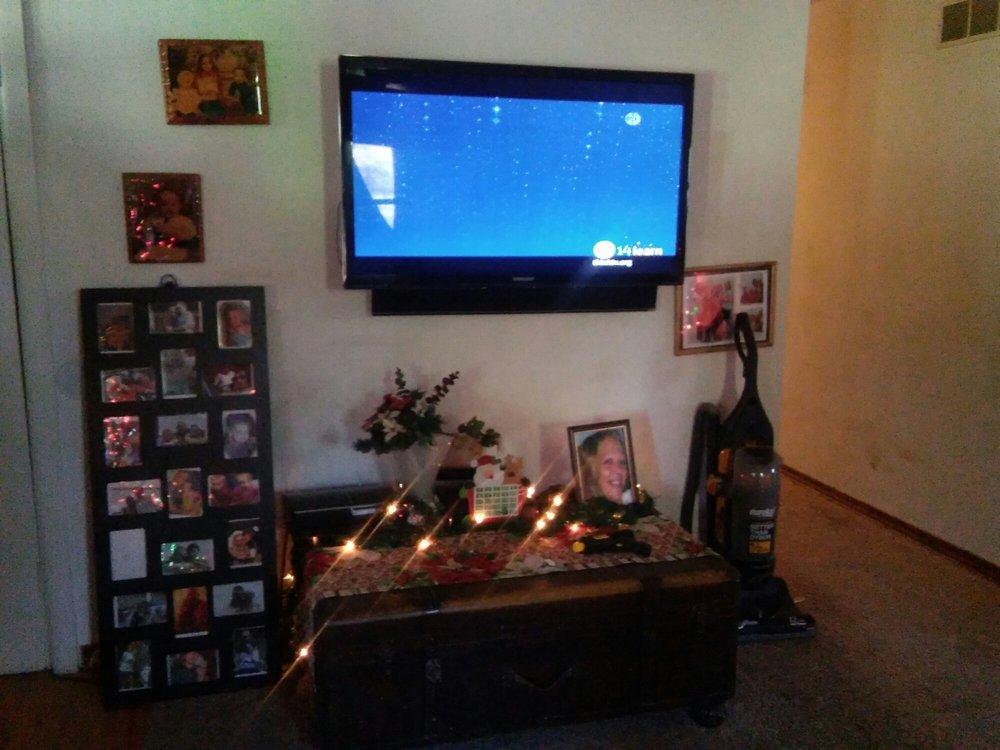 On Wall TV Install: Alexandria, KY