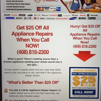 348s san jose appliance repair 90 photos & 113 reviews heating  at honlapkeszites.co