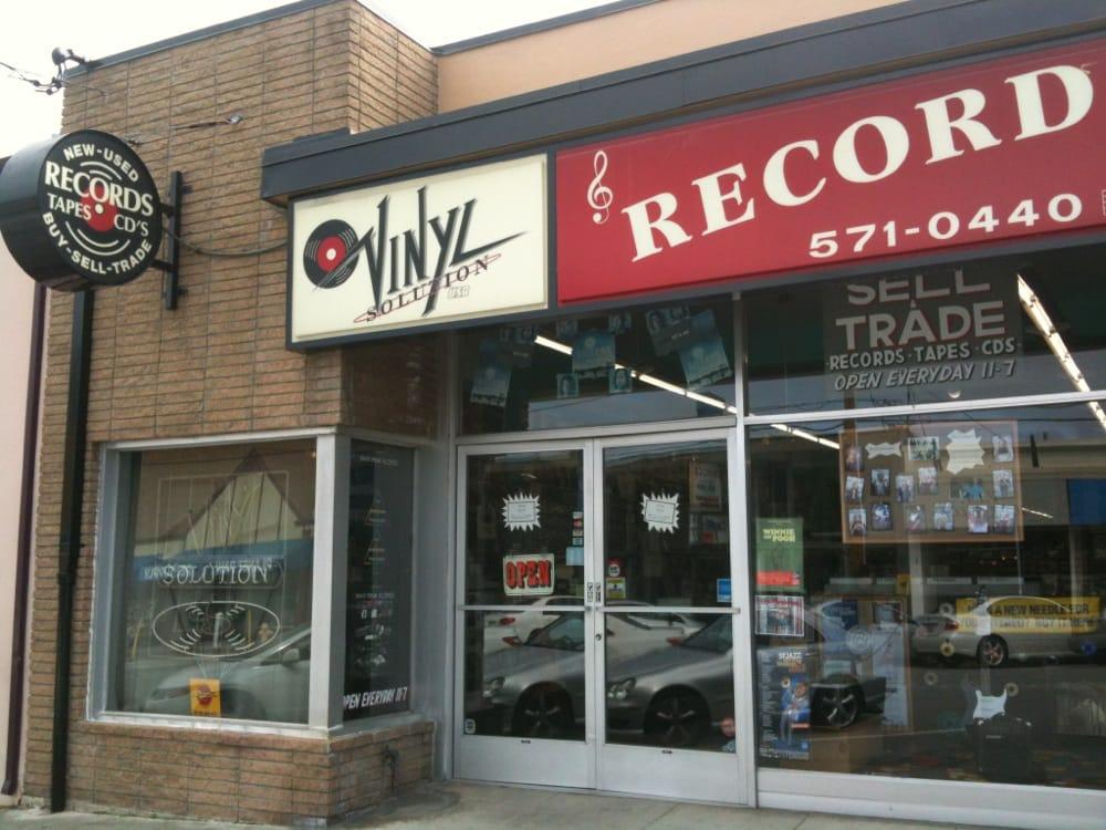 Vinyl Solution S Storefront Yelp