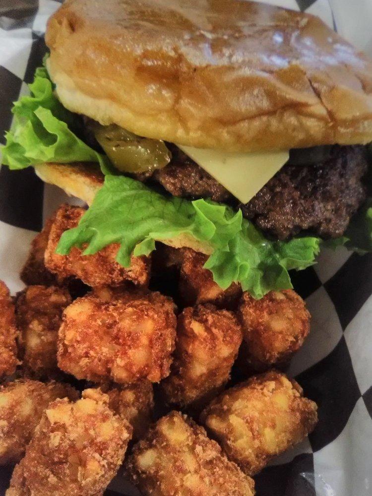Burger Station: 118 East Oklahoma, Okeene, OK