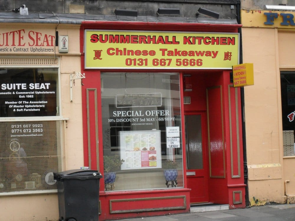 Summerhall kitchen takeaway fast food 9 summerhall for O kitchen edinburgh