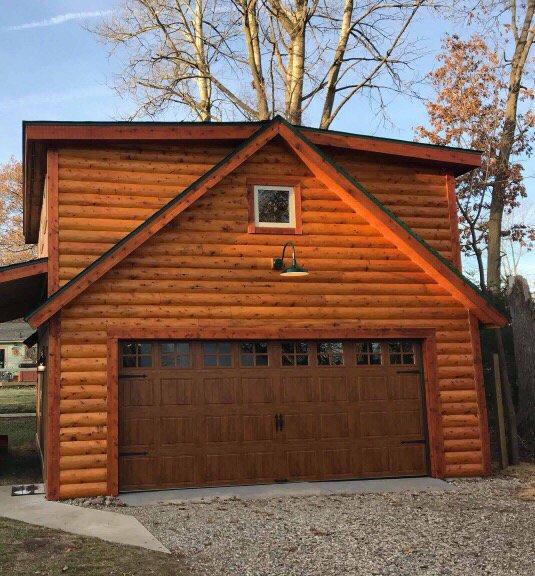 Photo Of Ksk Garage Doors Highland Mi United States Beautiful Wood Grain