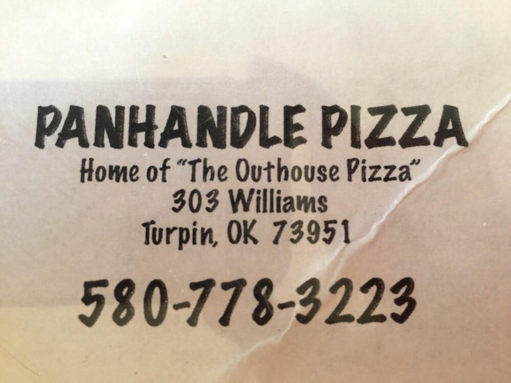 Panhandle Pizza: 303 Williams, Turpin, OK