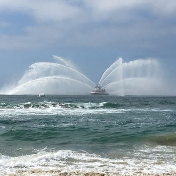 Photo Of Huntington State Beach Ca United States Fire Boat