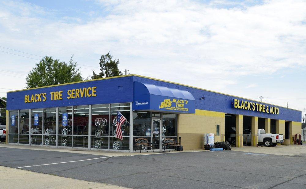 Black's Tire & Auto Service: 208 Mcarthur Ave, Dillon, SC