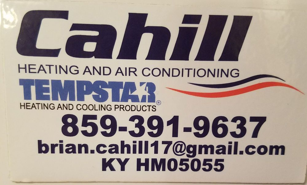 Cahill Heating and Air Conditioning: 284 Pond Gap Rd, Butler, KY