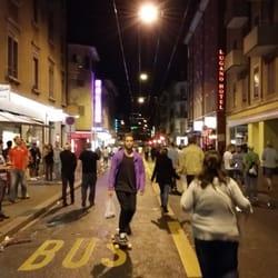 Teen girls in Zurich