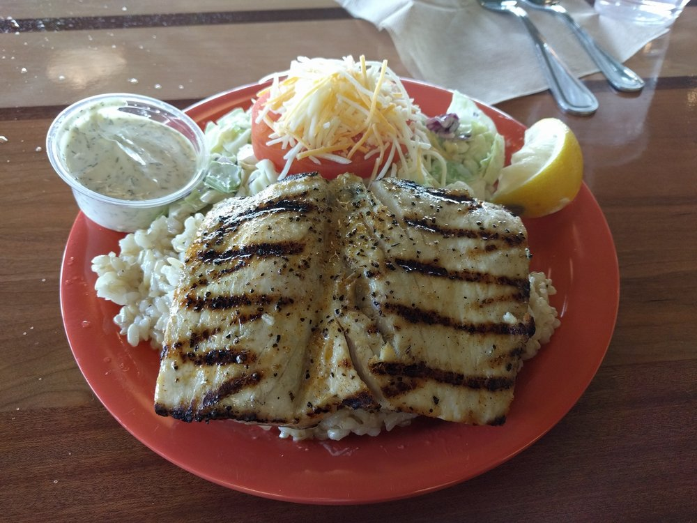 Grilled mahi mahi plate yelp for Coconut s fish cafe