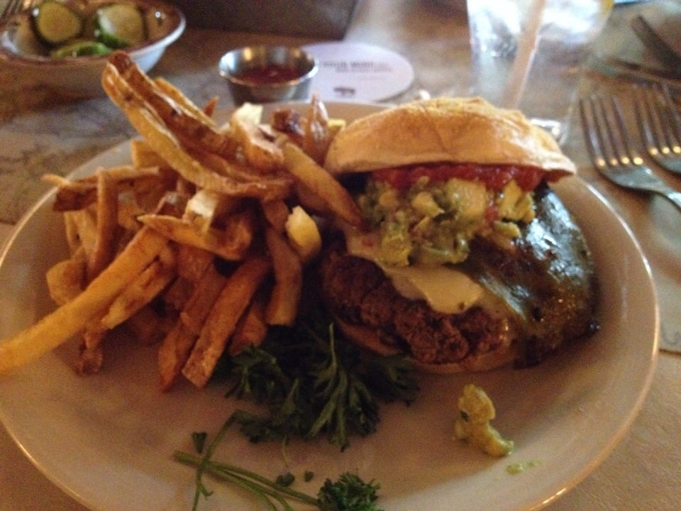 New mexico beef burger with fries yelp for Ted s fish fry