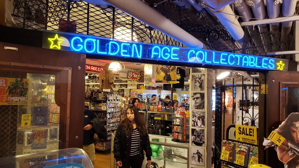 Golden Age Collectables: 1501 Pike Place Market, Seattle, WA