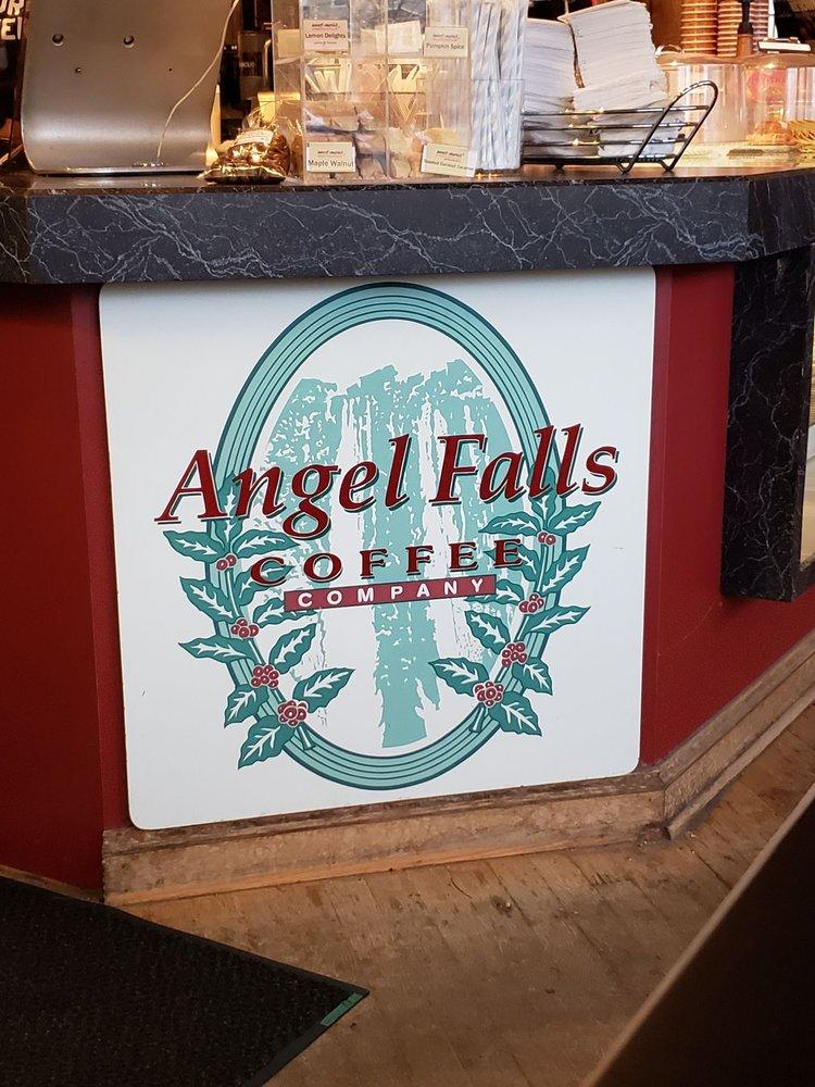 Social Spots from Angel Falls Coffee Company