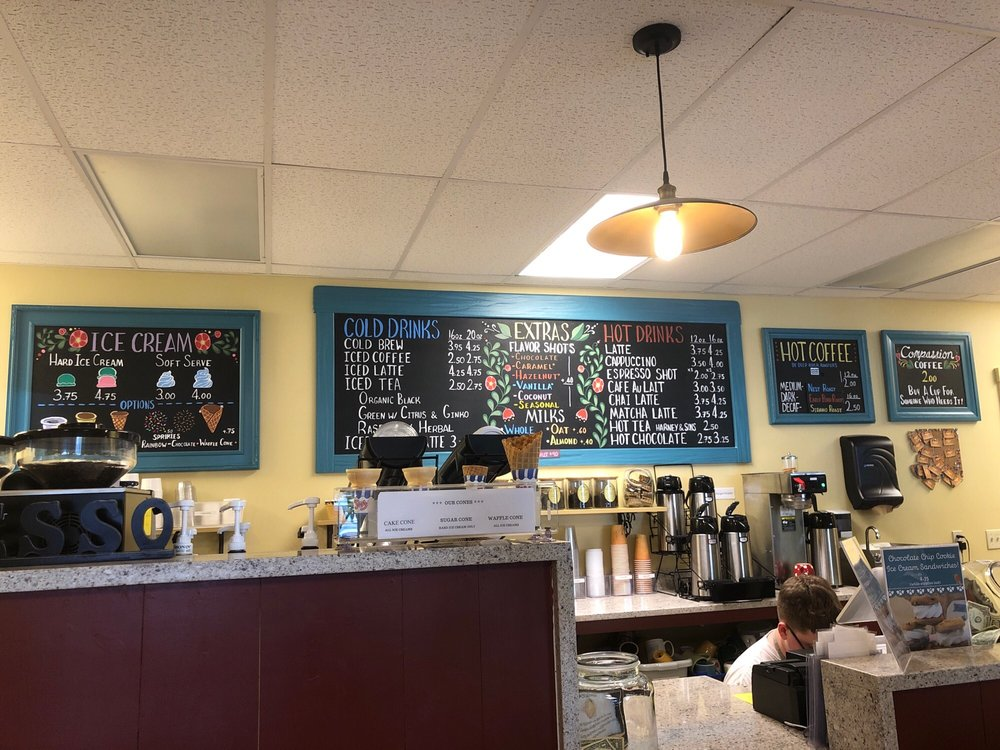 The Nest Coffee Shop: 162 Main St, Deep River, CT