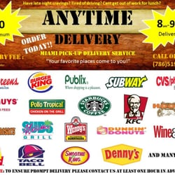 Anytime Delivery