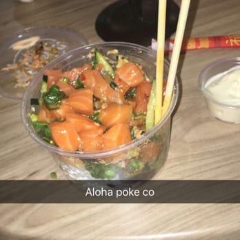 Aloha poke co 68 photos sushi bars near west side for Fish me poke menu