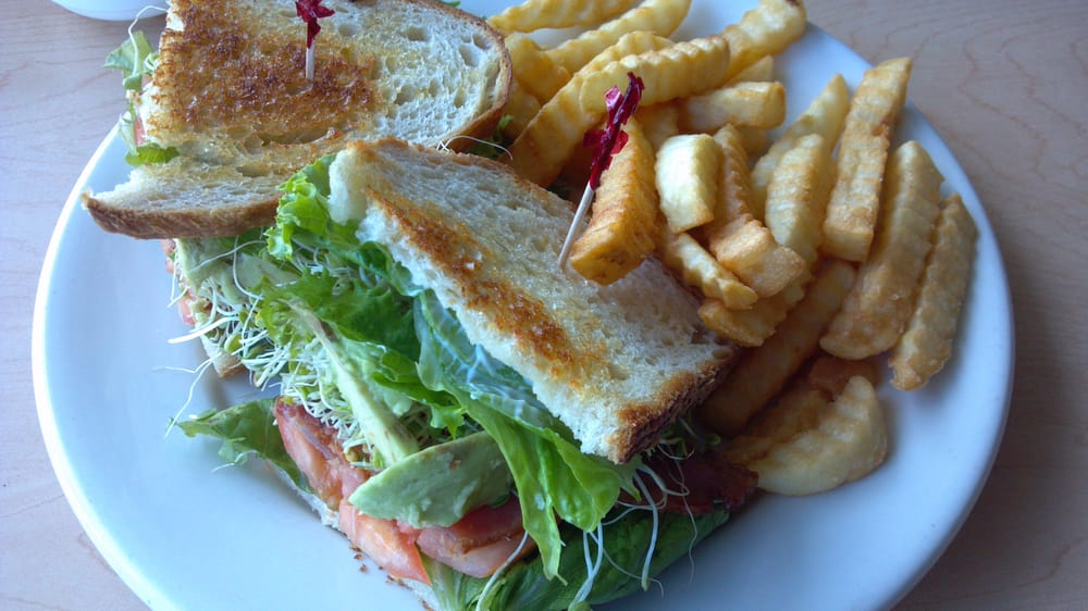 ... - Hilo, HI, United States. BLT sandwich with sprouts and avocado