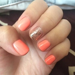 Photo Of Brandons Nails Philadelphia Pa United States Perfect Match Accent And