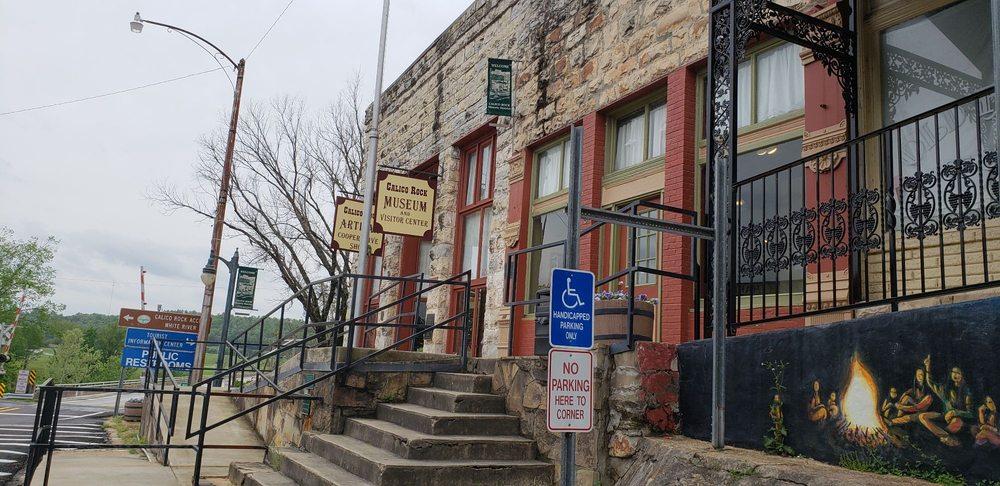 Calico Rock Museum & Visitor Center: 105 Main St, Calico Rock, AR