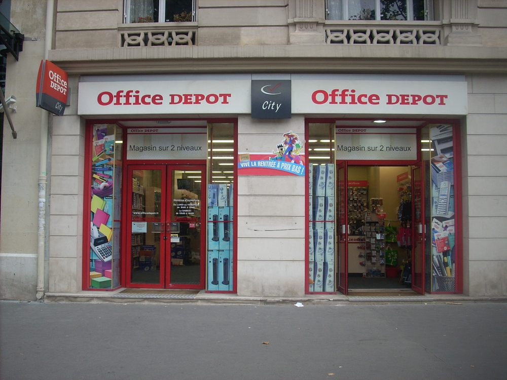 office depot - office equipment - 44 avenue de la grande armée