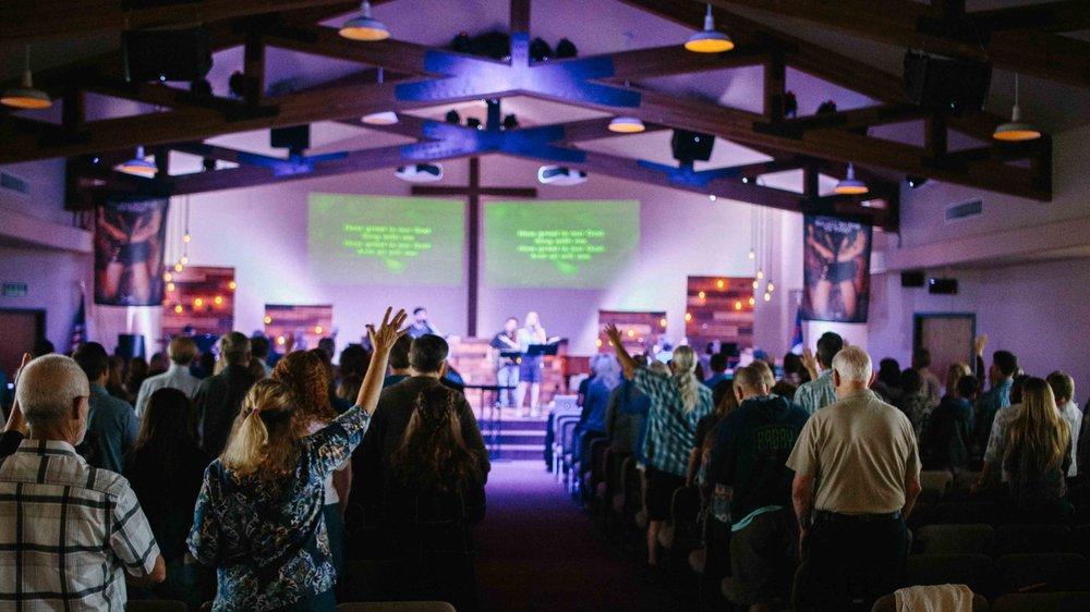 Riverview Evangelical Free Church: 4980 Sweetgrass Ln, Bonsall, CA