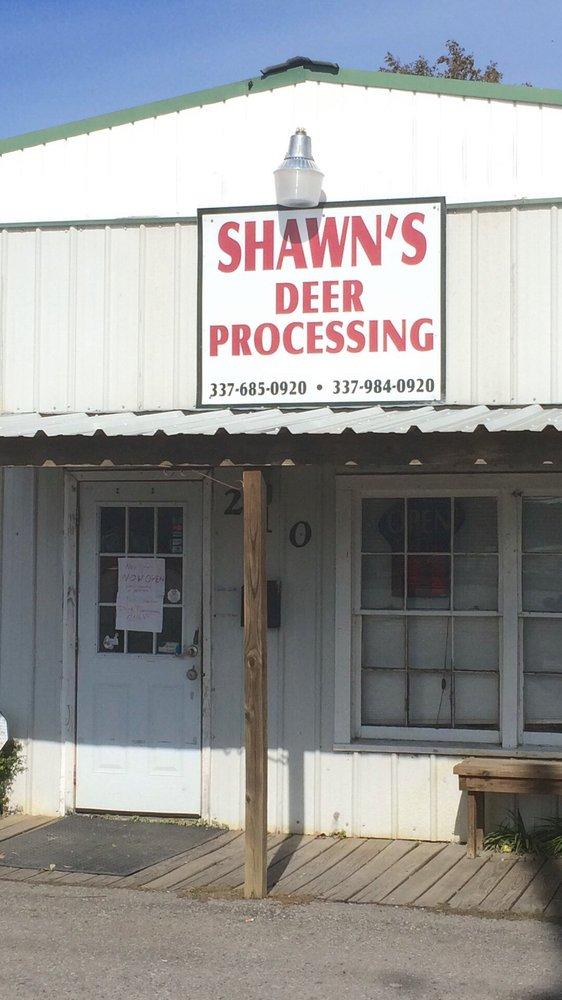 Shawn's Deer Processing: 410 Canal St, Delcambre, LA