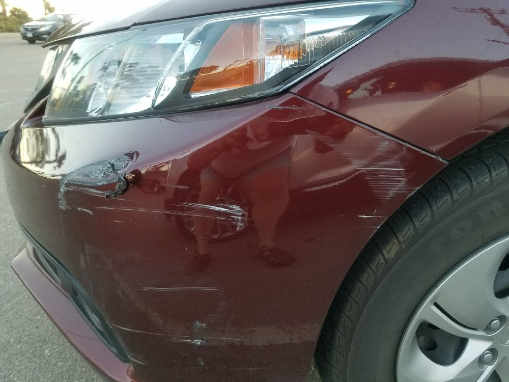 Damage caused to my vehicle when Malibu Tow Truck hit my car while ...