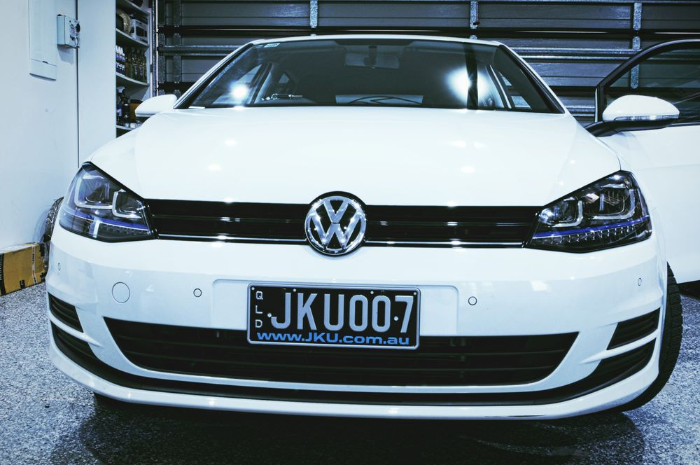 Golf 7 With Gte Full Led Headlights Retrofitted First In Australia