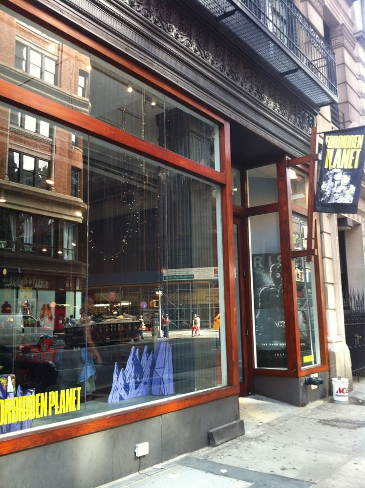 Forbidden Planet: 832 Broadway, New York, NY