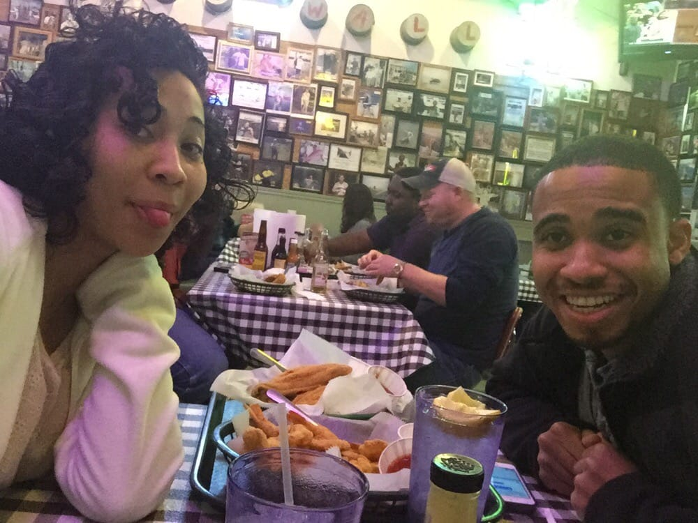 He has me at this country place in little rock our food for Flying fish little rock
