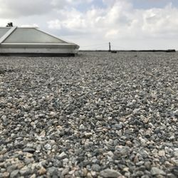 Photo Of Top Roofing   Los Angeles, CA, United States. Gravel On Top