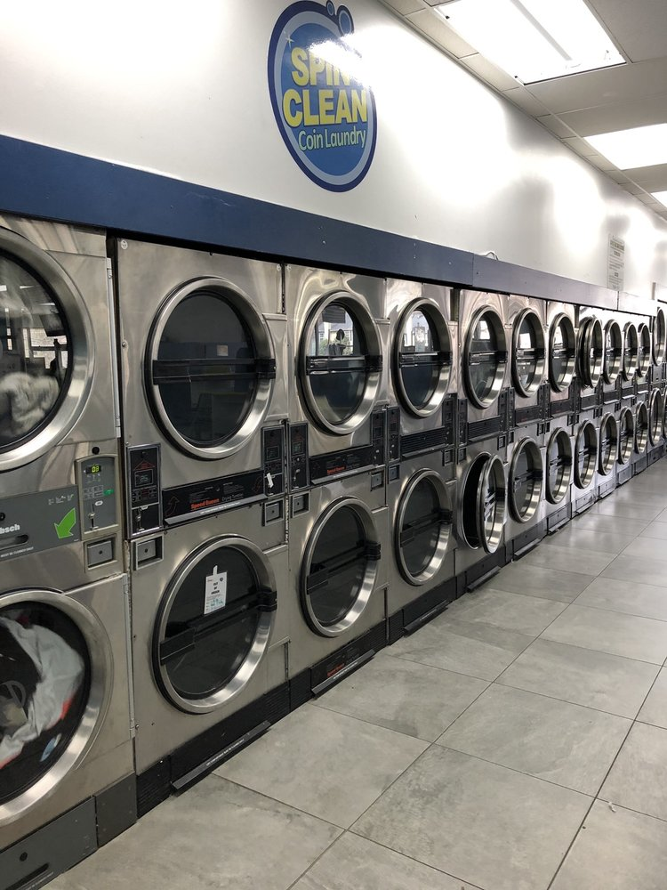 Spin Clean Coin Laundry: 5441 Memorial Dr, Stone Mountain, GA