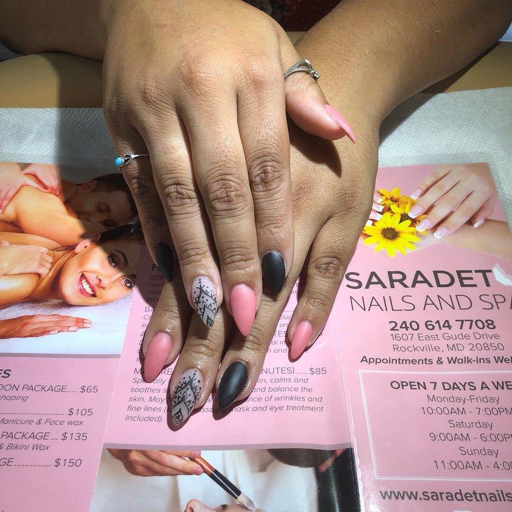 Saradet Nails And Spa: 1607 E Gude Dr, Rockville, MD