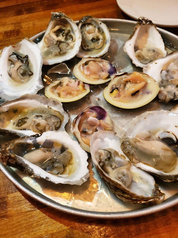 Food from The Quahog Republic Whaler's Tavern