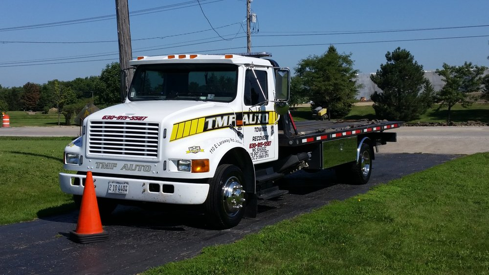 Towing business in Aux Sable, IL