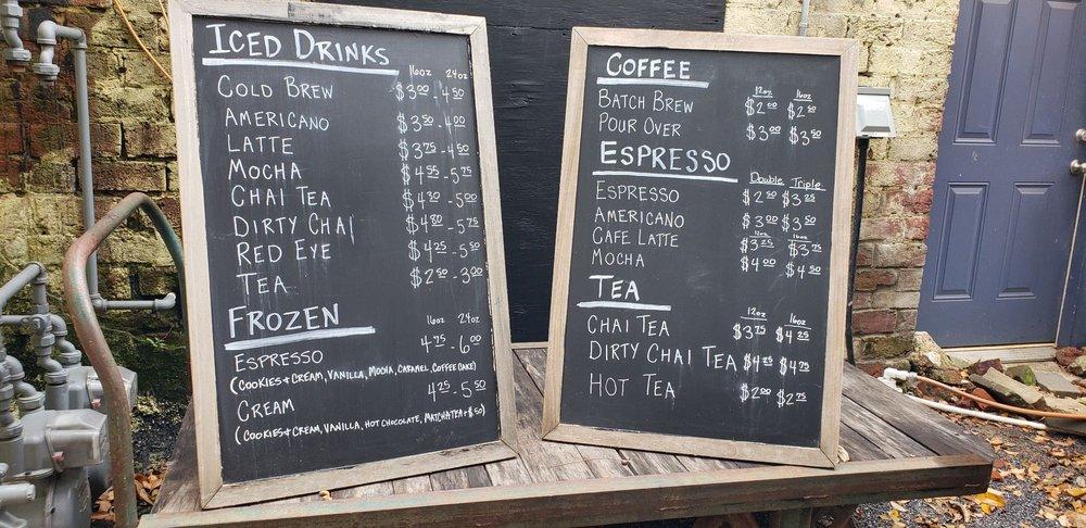 Southern Girl Coffee: 31 E Choccolocco St, Oxford, AL
