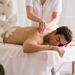 Asian male masseuse