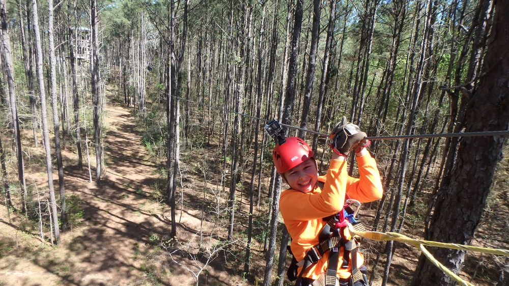 Charleston Zip Line Adventures: 1152 Guerins Bridge Rd, Awendaw, SC