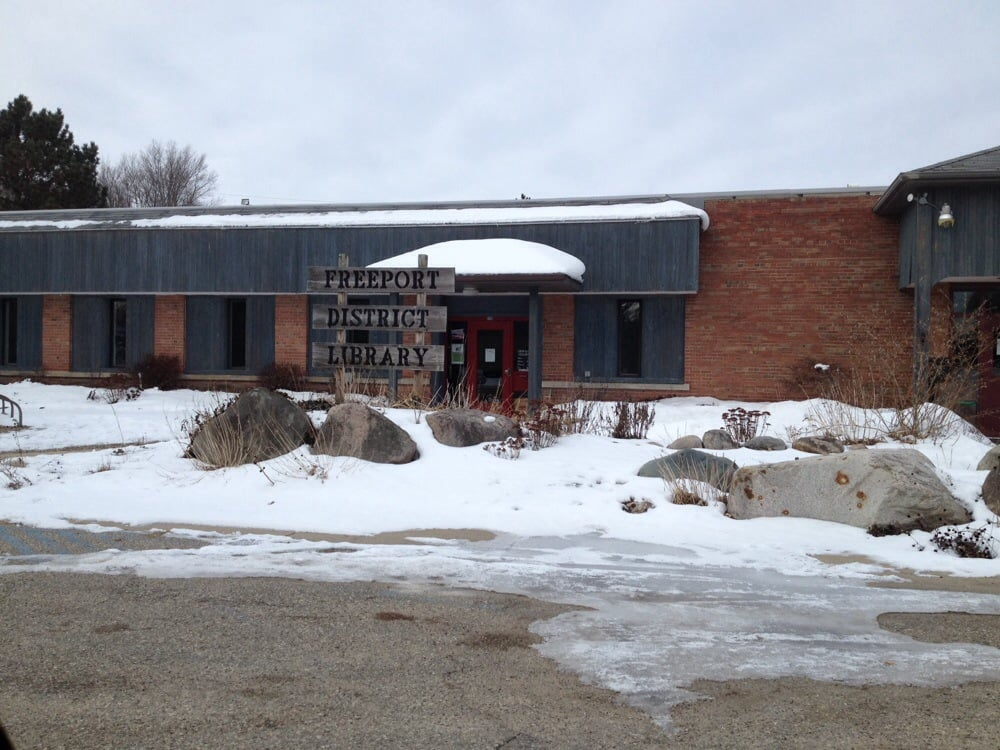 Freeport District Library: 209 S State St, Freeport, MI