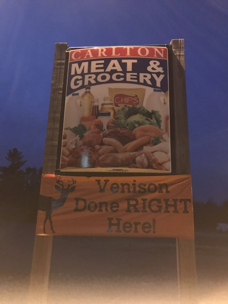 Carlton Meat And Grocery: 500 3rd St, Carlton, MN