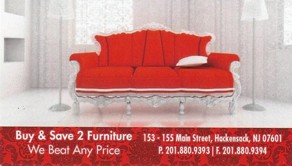 Excellent Buy Save 2 Furniture 155 Main St Hackensack Nj Furniture Download Free Architecture Designs Scobabritishbridgeorg